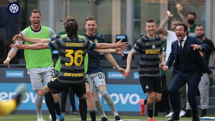 Pekan Ini Inter Milan Berpeluang Amankan Gelar Juara Scudetto Liga Italia, Begini Impresifnya Conte