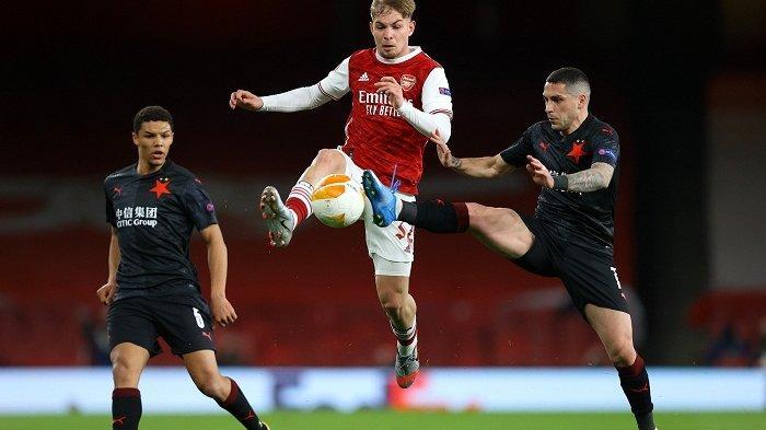 Update Hasil Piala Eropa Gol Telat Slavia Praha Pupuskan Kemenangan Arsenal, Lacazette Buang Peluang