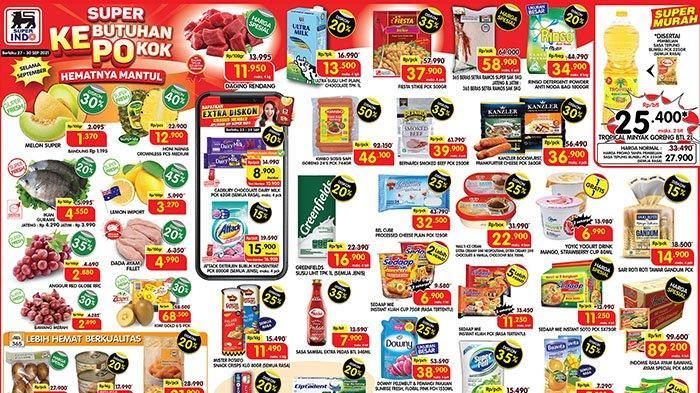 UPDATE! KATALOG Promo Superindo 27-30 September 2021: Rinso Diskon 20%, Mister Potato Snack Rp11.490