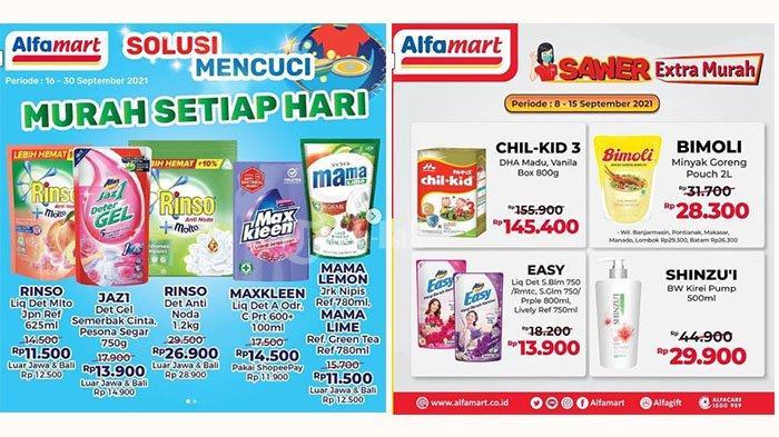 UPDATE! PROMO Alfamart 12-15 September 2021: Rinso + Molto 625ml Rp11.500, Shinzui 500ml Rp29.900