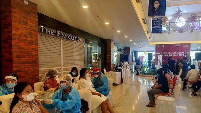 Wujud Dukungan APPBI DPD Bali, Program Vaksinasi Covid-19 Dilaksanakan di Shopping Mall