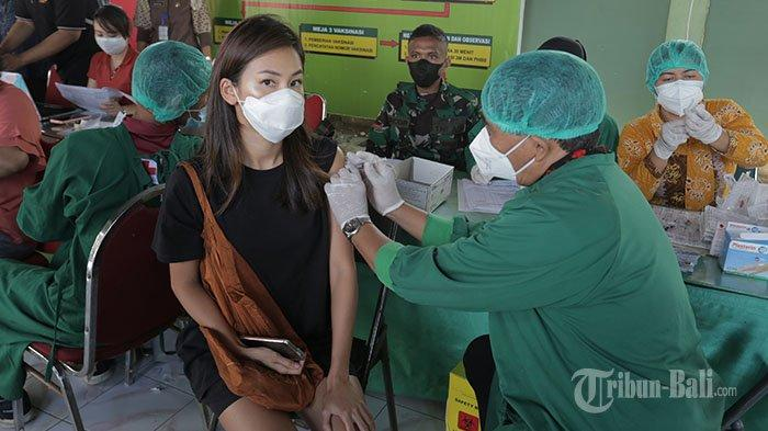 Antusias Anak dan Remaja Ikut Vaksin di RSAD Udayana Denpasar, Gede Pasek Ingin Segera Bisa Sekolah