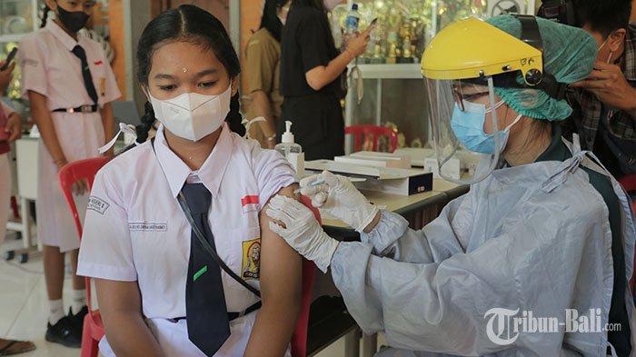 67 Ribu Anak Usia 12-17 Tahun di Buleleng Jadi Sasaran Vaksinasi Covid-19