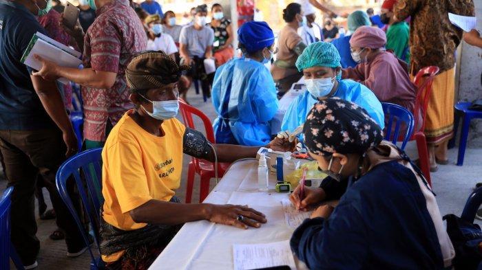 55 Persen Warga Klungkung Belum Tervaksin, Setiap Desa Diminta Berkompetisi Tuntaskan Vaksinasi