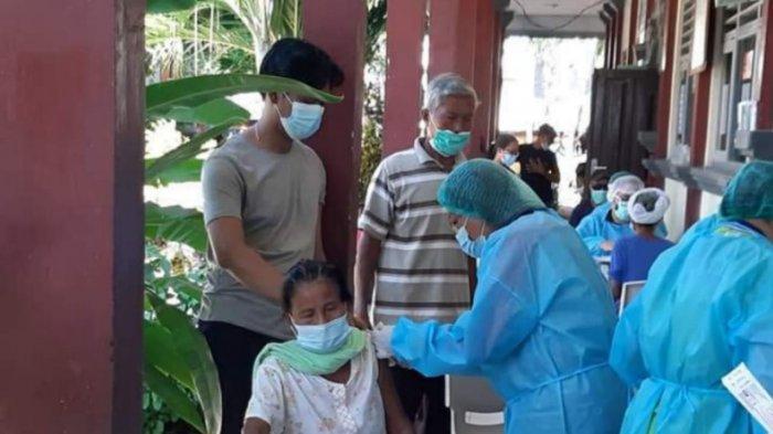21.841 Warga di Klungkung Menerima Vaksin Kedua, Angka Kasus Covid-19 di Klungkung Mulai Melandai