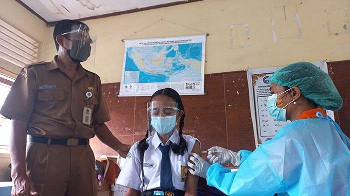 Seorang Siswa di Klungkung Lemas Seusai Vaksinasi, Saat Diperiksa Tensinya Rendah