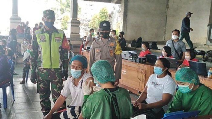 Vaksinasi Covid-19 di Bangli Telah Mencapai 100 Persen