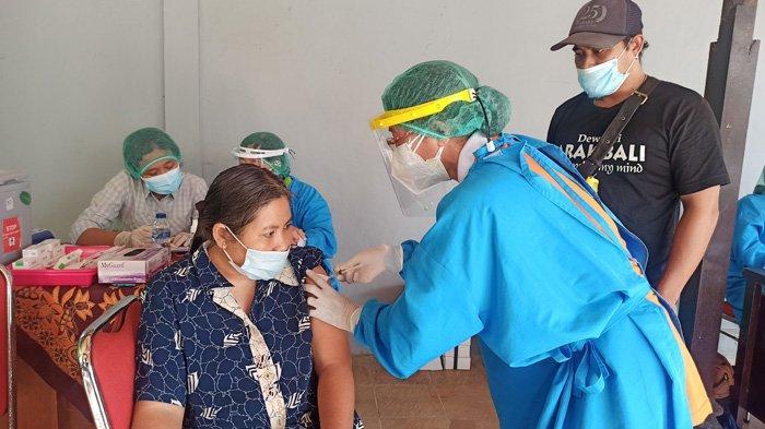 Dinsos Bangli Layani Vaksinasi Bagi 577 Penyandang Disabilitas