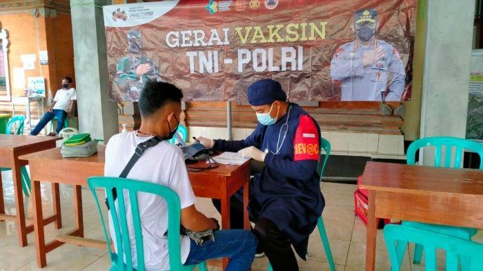 Vaksinasi Hari Ini Digelar di Desa Kamasan & Timuhun, Masyarakat Berkesempatan Dapat Hadiah Motor