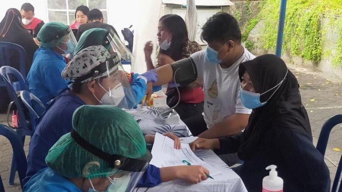 DPD LDII Denpasar Kerja Sama dengan Polresta Denpasar Gelar Vaksinasi Massal, Peserta 500 Orang