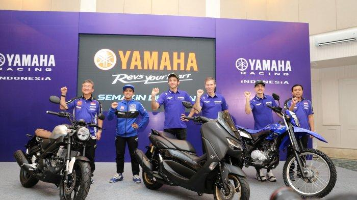 Launching Aplikasi Y-Connect dan Harga All New Nmax Connected/ABS Diumumkan Bersama Valentino Rossi