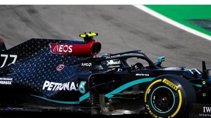 Ungguli Lewis Hamilton, Valtteri Bottas Jadi yang Tercepat di P2 Formula 1 GP Rusia