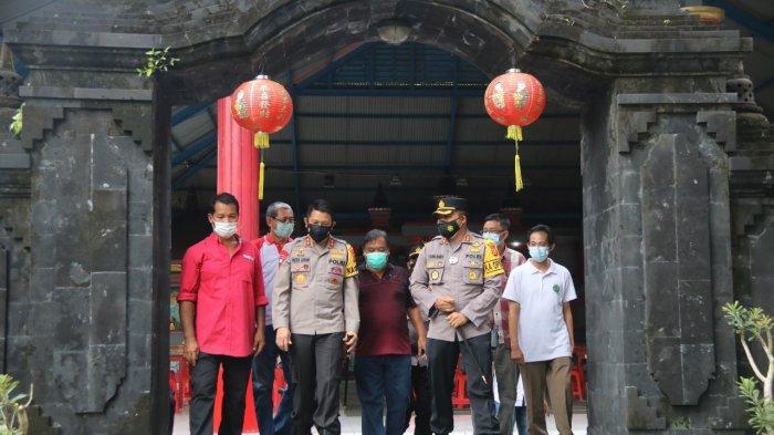 Begini Kesiapan Prokes Vihara Amurva Bhumi Blahbatuh Gianyar Bali Jelang Imlek 2021