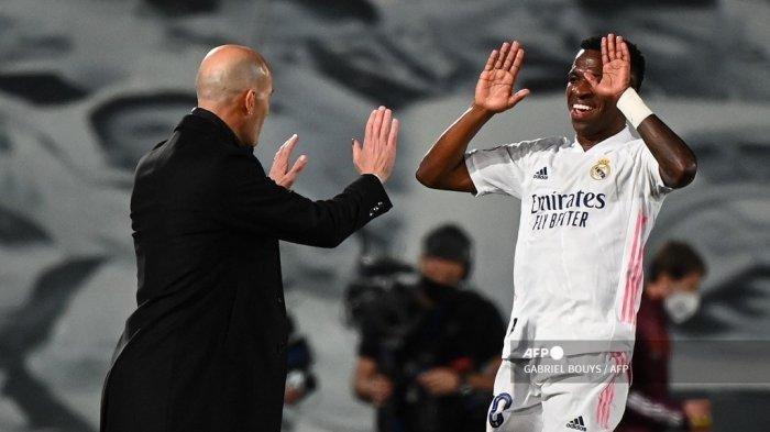 Update Hasil Liga Champions Leg Pertama 8 Besar: Ini Kata Zidane Usai Real Madrid Kalahkan Liverpool
