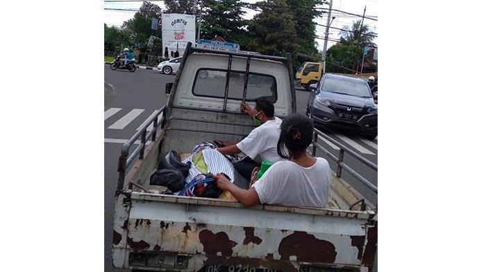 VIRAL Jenazah Gede Seni Diangkut Mobil Pikap, Istri: Kami Tidak Punya Uang Sewa Mobil Ambulans