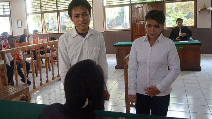 Jadi Kurir Narkotik,Sepasang Suami Istri Divonis 13 Tahun Penjara