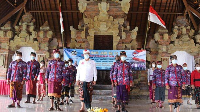 Wakil Bupati Bangli Kukuhkan Pengurus PPDI Bangli