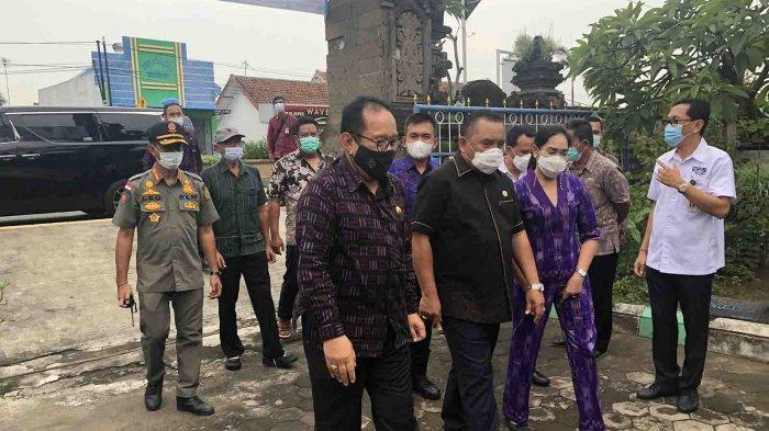 Wagub Cok Ace Kunjungi Percepatan Vaksinasi Covid-19 di Jembrana Bali