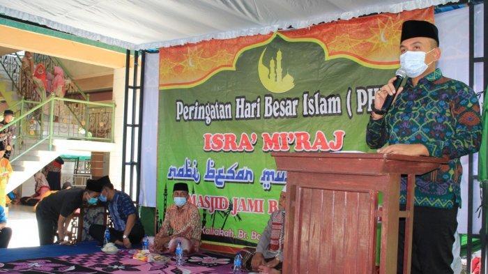 Peringatan Isra Miraj, Wabup Jembrana: Momentum Mempererat Toleransi Antar Umat Beragama
