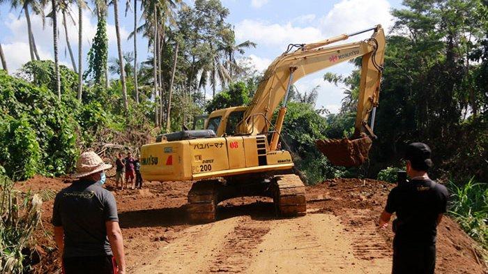 Proyek Embung di Desa Getakan Klungkung Mulai Dikerjakan, Anggarannya Capai Rp 7,7 Miliar
