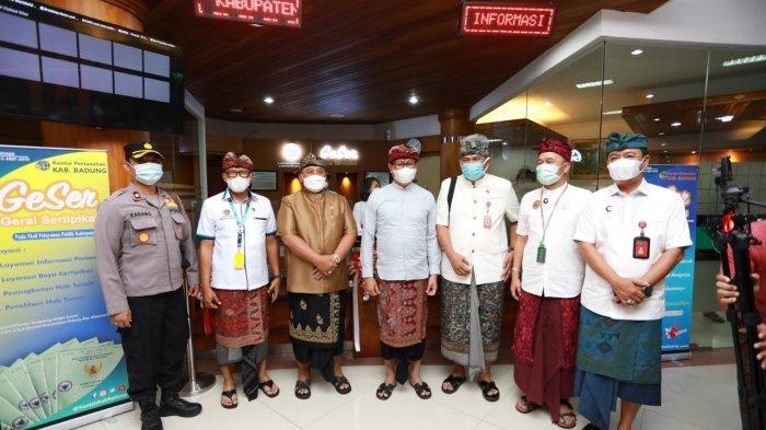 Suiasa Hadiri Launching Layanan GeSer di Badung, Wujud Kolaborasi Penyelenggaraan Pelayanan Publik