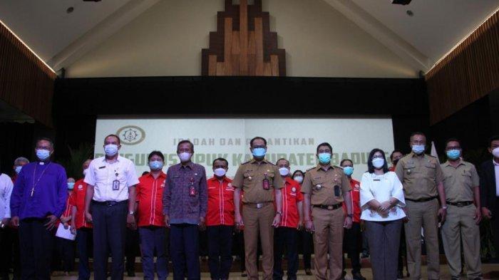 Wabup Suiasa Hadiri Pelantikan MPUK Kabupaten Badung