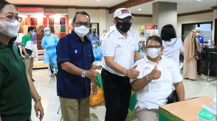 Vaksinasi di Tiga Zona Hijau Wilayah Bali Nyaris 100 Persen,Wagub Cok Ace Target Rampung Pekan Depan