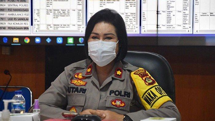Wakapolres Badung dan Seluruh UPP Ikuti Vicon Saber Pungli