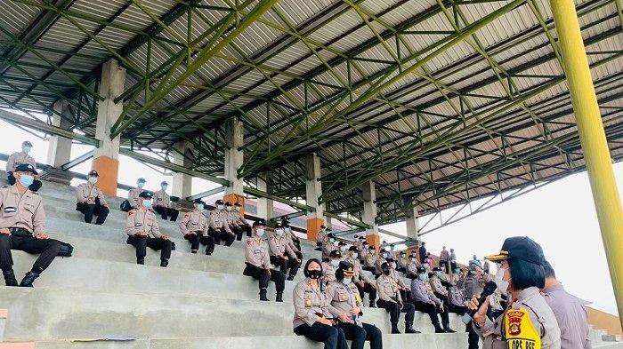 Wakapolres Badung Terima 45 Siswa yang Dikembalikan dari SPN Singaraja