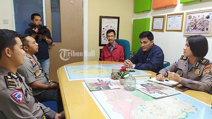 Jalin Silaturahmi dengan Media, Wakapolresta Denpasar Kunjungi Kantor Kompas Gramedia Group