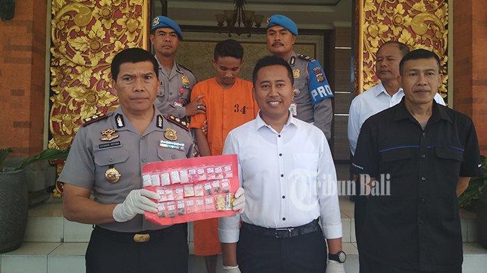 Simpan Sabu dan Pil Ekstasi di Jok Motor, Pengedar Narkoba Diringkus Polisi