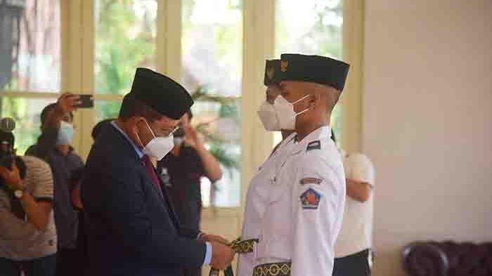 Sembilan Paskibraka Kabupaten Buleleng Dikukuhkan, Wabup: Tugas yang Sangat Mulia