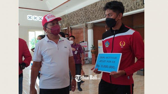 Wakil Bupati BulelengPastikan Atlet Peraih Medali PON Papua Tetap Dapat Bonus