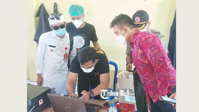 Sidak Klinik di Gilimanuk, Wabup Jembrana dan Satgas Covid-19 Pantau Harga Rapid Tes di Jembrana