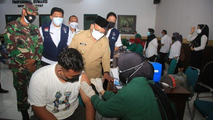 Kejar Target Vaksinasi, Banyuwangi Masifkan Pelaksanaan