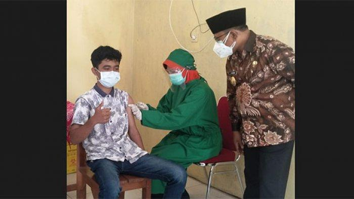 Tahap Awal Sasar 11.500 Anak, Banyuwangi Genjot Vaksinasi Pelajar