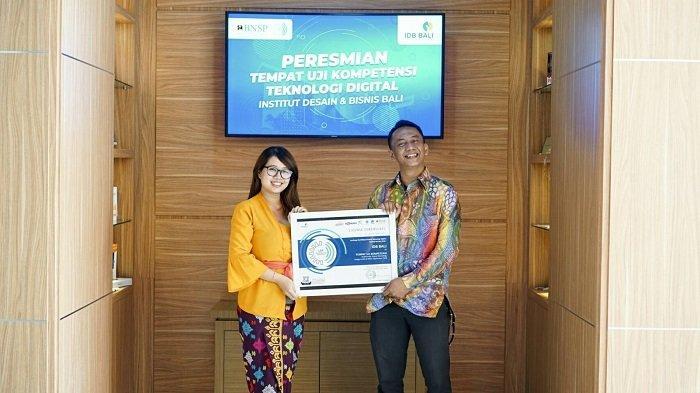 Institut Desain dan Bisnis Bali Resmi Menjadi Pusat Sertifikasi Profesi Teknologi Digital di Bali