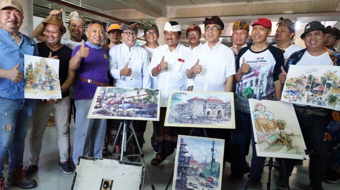Festival Pasar Rakyat Kota Denpasar Wujud Kolaborasi dan Akulturasi Budaya
