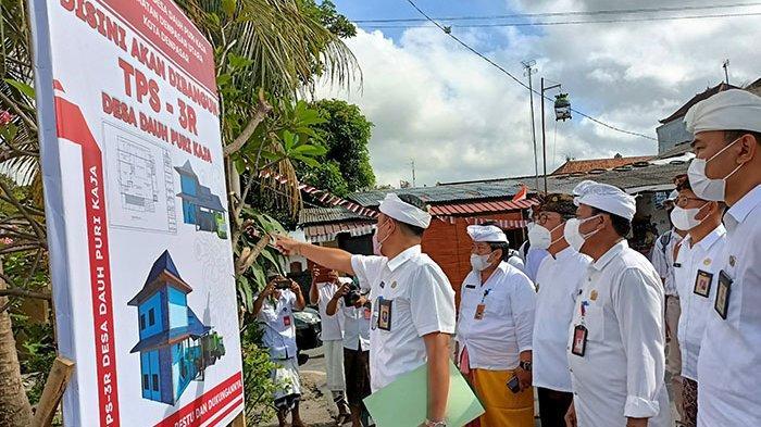 TPS3R Desa Dauh Puri Kaja Denpasar Ditarget Beroperasi Awal Januari 2022,Pemkot Akan Tambah 11 TPS3R