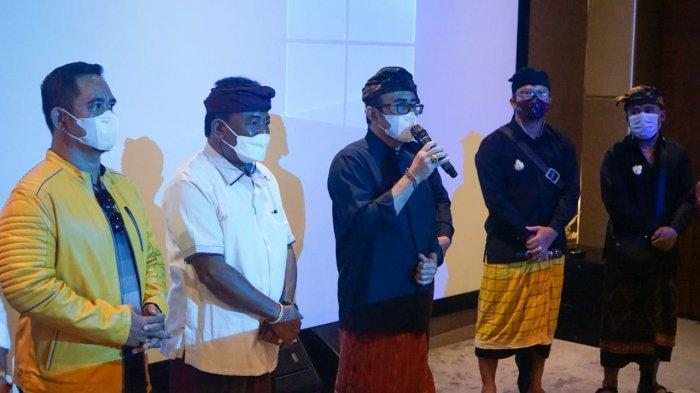 Tayang Perdana, Jaya Negara dan Arya Wibawa Apresiasi Film 'Pan Balang Tamak' Jadi Wahana Edukasi