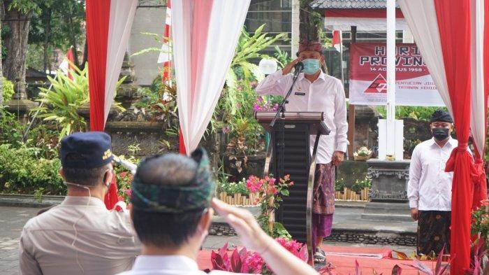 Rai Mantra Pimpin Pemkot Denpasar Apel Peringatan HUT Provinsi Bali Ke-62