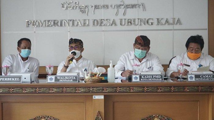 Kunjungan Wali Kota Jaya Negara di Desa Ubung Kaja dan Kelurahan Ubung, Percepat Pelayanan