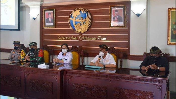 Fokus Turunkan Kasus Aktif, Wali Kota Denpasar dan Forkopimda Tinjau RS Rujukan Covid-19