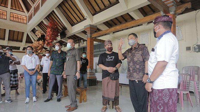 Pantau Kesiapan TPS di Denpasar, Walikota Rai Mantra: Protokol Kesehatan Sudah Bagus