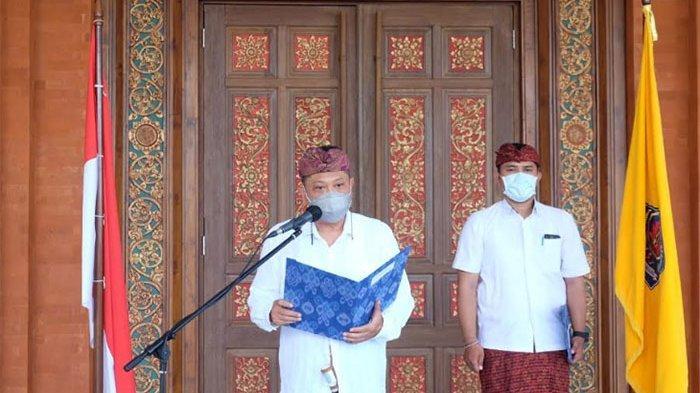 Walikota Rai Mantra Lantik Penjabat Perbekel Sidakarya Secara Virtual