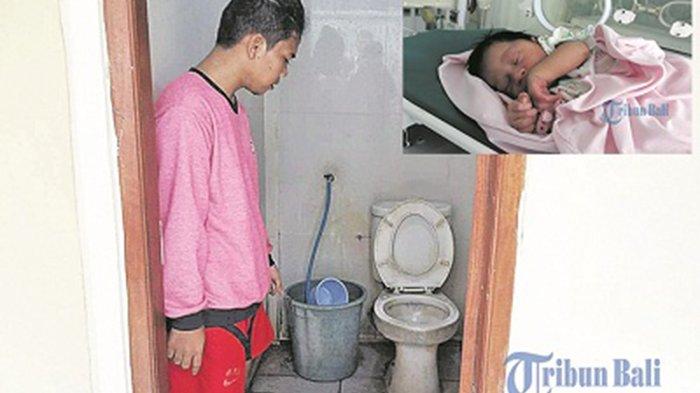 Memilukan, Wanita Gangguan Jiwa Melahirkan Bayi di Toilet Eks Pelabuhan Buleleng