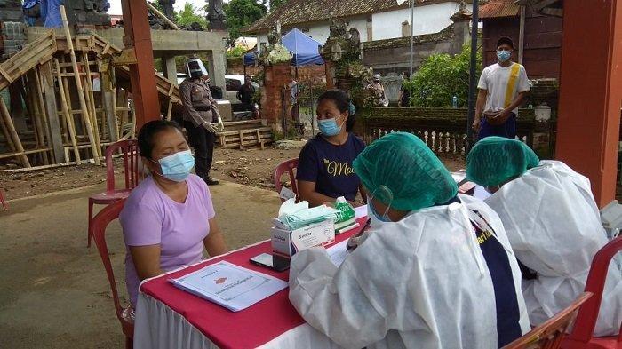 9 Orang Reaktif Pasca Rapid Antigen Ratusan Orang di Pejeng Kangin Gianyar