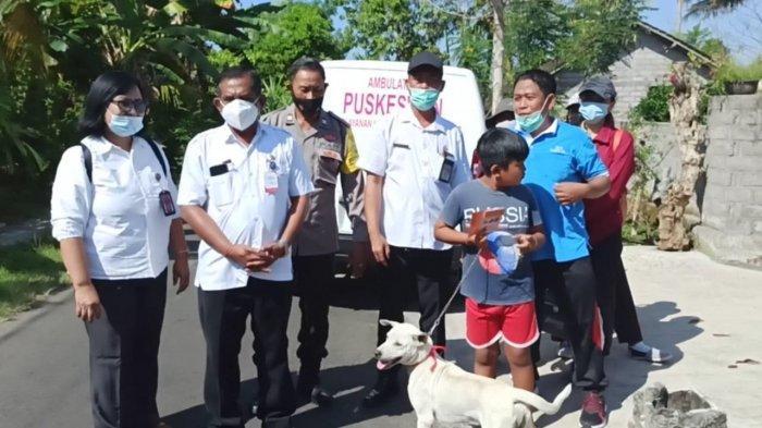 Enam Warga Banjar Sawe Jembrana Terkena Gigitan Anjing Positif Rabies