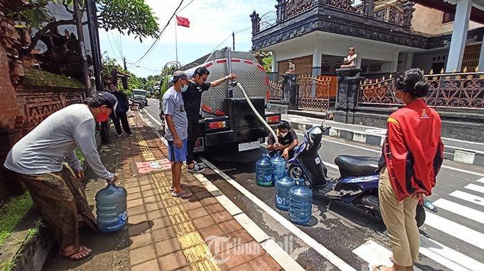 Sudah Tiga Hari Warga di Denpasar Kesulitan Air | PDAM Badung dan Klungkung Merugi Miliaran Rupiah