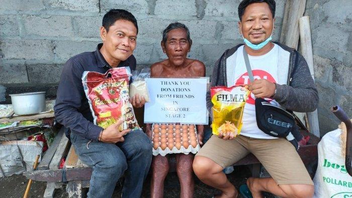 Iva Iba dengan Kondisi Warga Gianyar Bali, Kirim Bantuan dari Singapura Lewat Guide